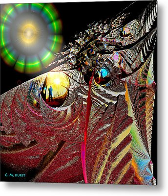 Parallel Worlds Metal Print by Michael Durst
