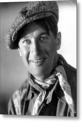 Paramount On Parade, Maurice Chevalier Metal Print by Everett