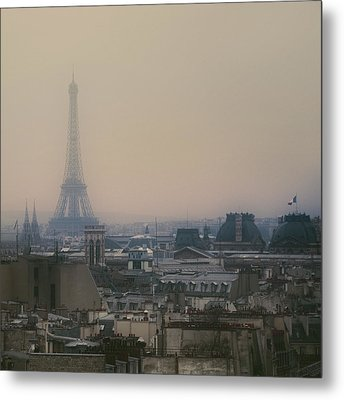 Paris Metal Print by Istvan Kadar Photography
