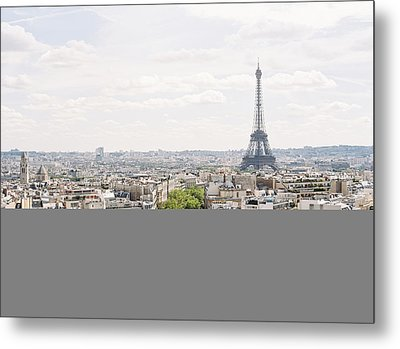 Paris Skyline Metal Print by Photographed by Victoria Phipps ©