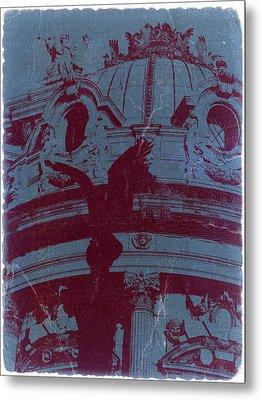 Parisian Opera Metal Print by Naxart Studio