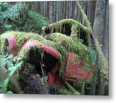 Parked For A While Metal Print by Shawn Hegan
