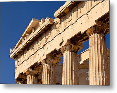 Parthenon Metal Print by Brian Jannsen
