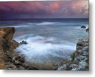 Pastel Storm Metal Print by Mike  Dawson