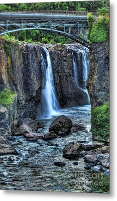 Paterson Great Falls Metal Print by Paul Ward