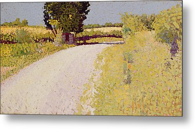 Path In The Country Metal Print by Charles Angrand