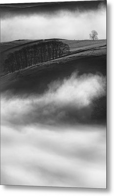 Peak District Landscape Metal Print by Andy Astbury
