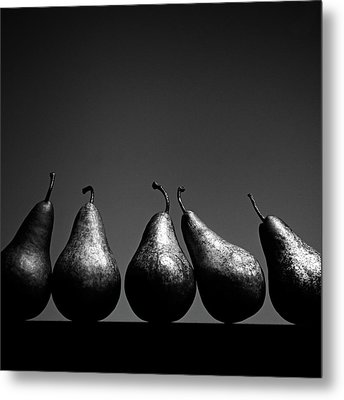 Pears Metal Print by Eddie O'Bryan