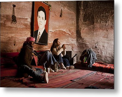 People Hide In A Cave Metal Print by Taylor S. Kennedy
