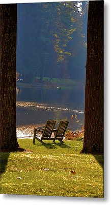 Perfect Morning Place Metal Print by Bill Cannon