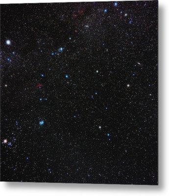 Perseus Constellation Metal Print by Eckhard Slawik
