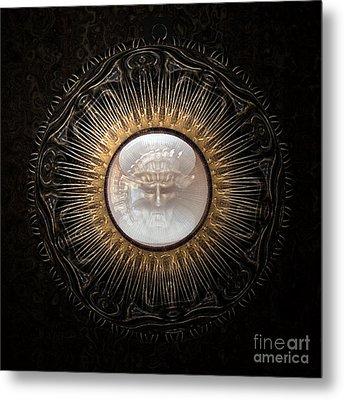 Personal Amulet Metal Print by Jan Willem Van Swigchem