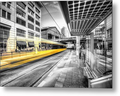 Perspective Colorkey Metal Print by Marcus Klepper