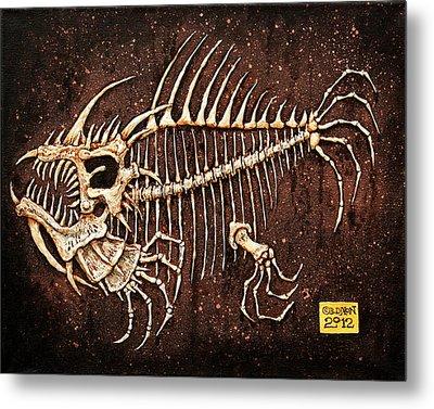 Pescado Seis Metal Print by Baron Dixon