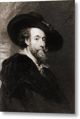 Peter Paul Rubens 1577-1640, Flemish Metal Print by Everett