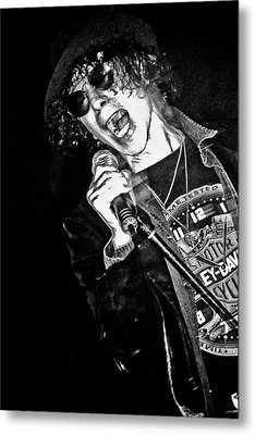 Peter Wolf Metal Print by Mike Martin