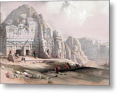 Petra  Metal Print by Munir Alawi