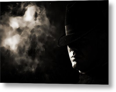 Phantom Metal Print by Monte Arnold