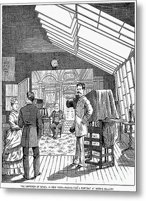 Photography Studio, 1876 Metal Print by Granger
