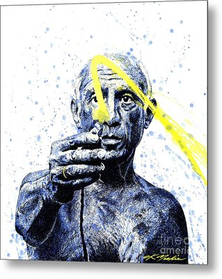Picasso Metal Print by Chris Mackie