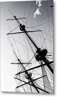 Pirate Ship Metal Print by Joana Kruse