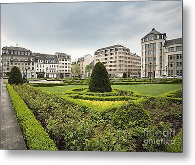 Place Des Martyrs, Luxembourg City, Luxembourg, Europe Metal Print by Jon Boyes