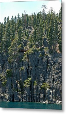 Playing On The Edge Lake Tahoe Metal Print by LeeAnn McLaneGoetz McLaneGoetzStudioLLCcom