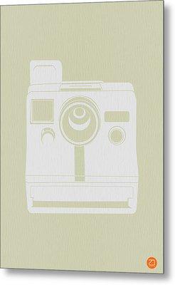 Polaroid Camera 2 Metal Print by Naxart Studio