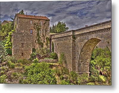 Pont De Minerve Metal Print by Rod Jones