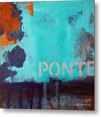 Ponte Metal Print by Linda Woods