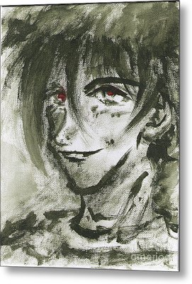 Portrait Freestyle Metal Print by Tuan HollaBack