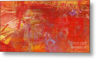 Powerless- I Watched Him Toss Her Into The Street And The Ladies Laughed Metal Print by Fania Simon
