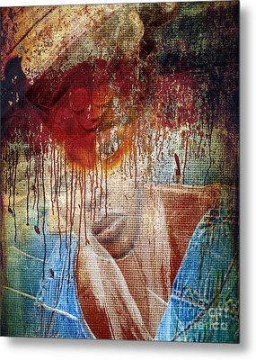 Pre Election In Africa Metal Print by Fania Simon