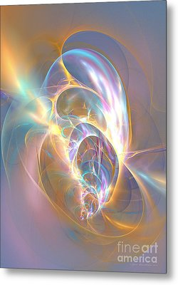 Precious Life - Abstract Art Metal Print by Abstract art prints by Sipo