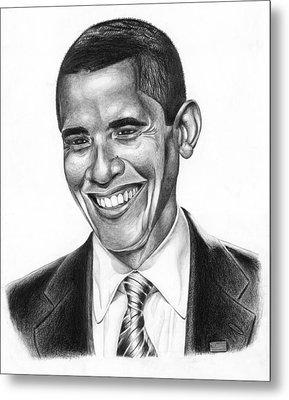 Presidential Smile Metal Print by Jeff Stroman