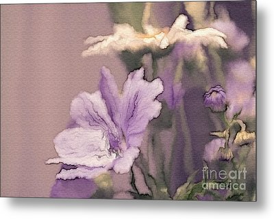 Pretty Bouquet - A05t01 Metal Print by Variance Collections