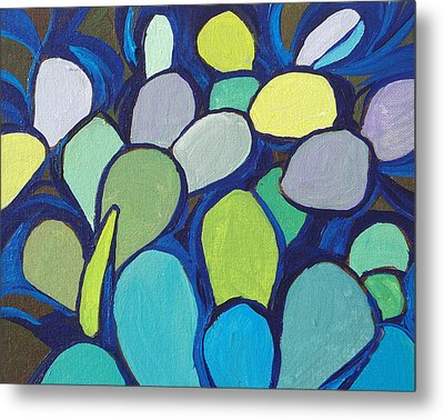 Prickly Pear 2 Metal Print by Sandy Tracey