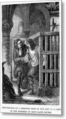 Prison: Cage, 17th Century Metal Print by Granger