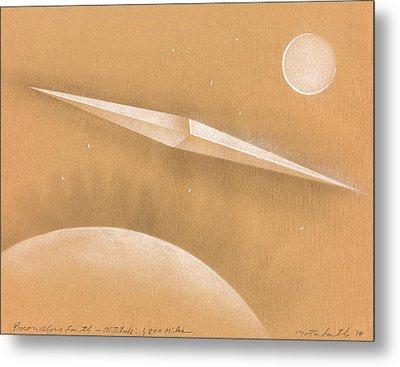 Procon Above Earth Metal Print by Albert Notarbartolo