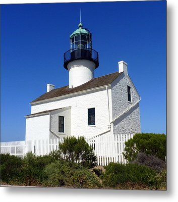 Pt. Loma Lighthouse Metal Print by Carla Parris