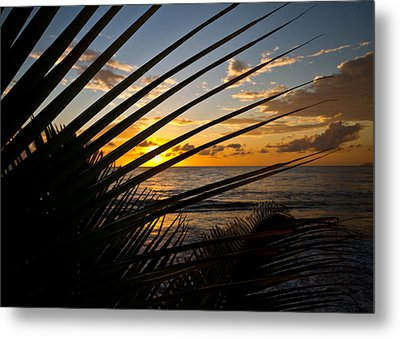 Puerto Rican Sunset IIi Metal Print by Tim Fitzwater