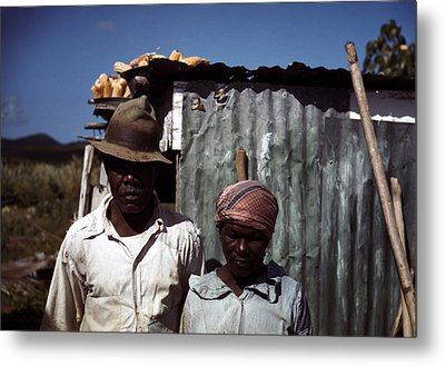 Puerto Rico. Tenant Farmers Metal Print by Everett