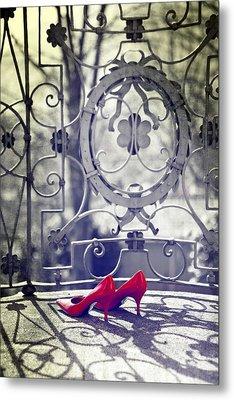 Pumps Metal Print by Joana Kruse