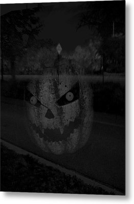 Punkinhead Metal Print by David Pantuso