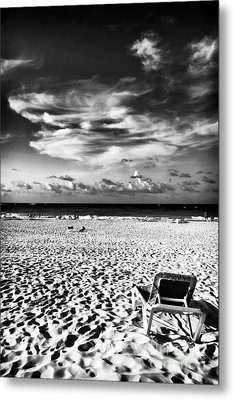 Punta Cana Lounge Metal Print by John Rizzuto