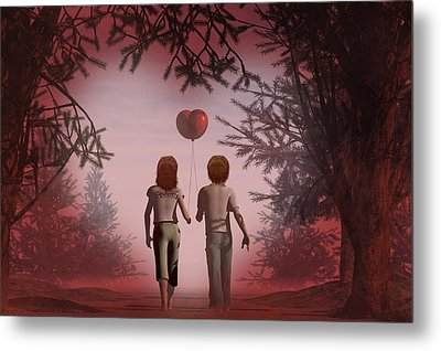 Puppy Love Metal Print by Carol and Mike Werner
