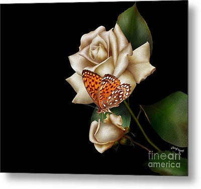 Purity Metal Print by Cheryl Young