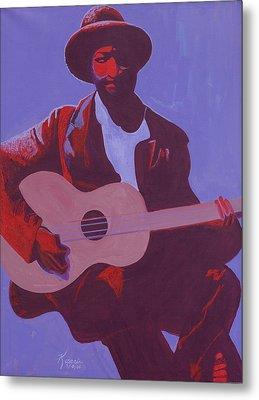 Purple Blues Metal Print by Kaaria Mucherera