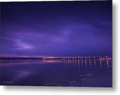 Purple Hazes  Metal Print by Chad Bromley