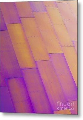 Purple Orange I Metal Print by Chris Dutton